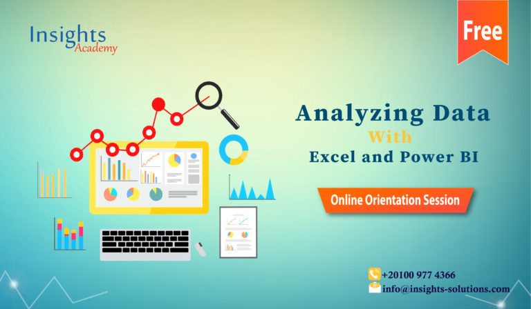 Analyzing Data with Excel and Power BI Track (Free Orientation Session) 1