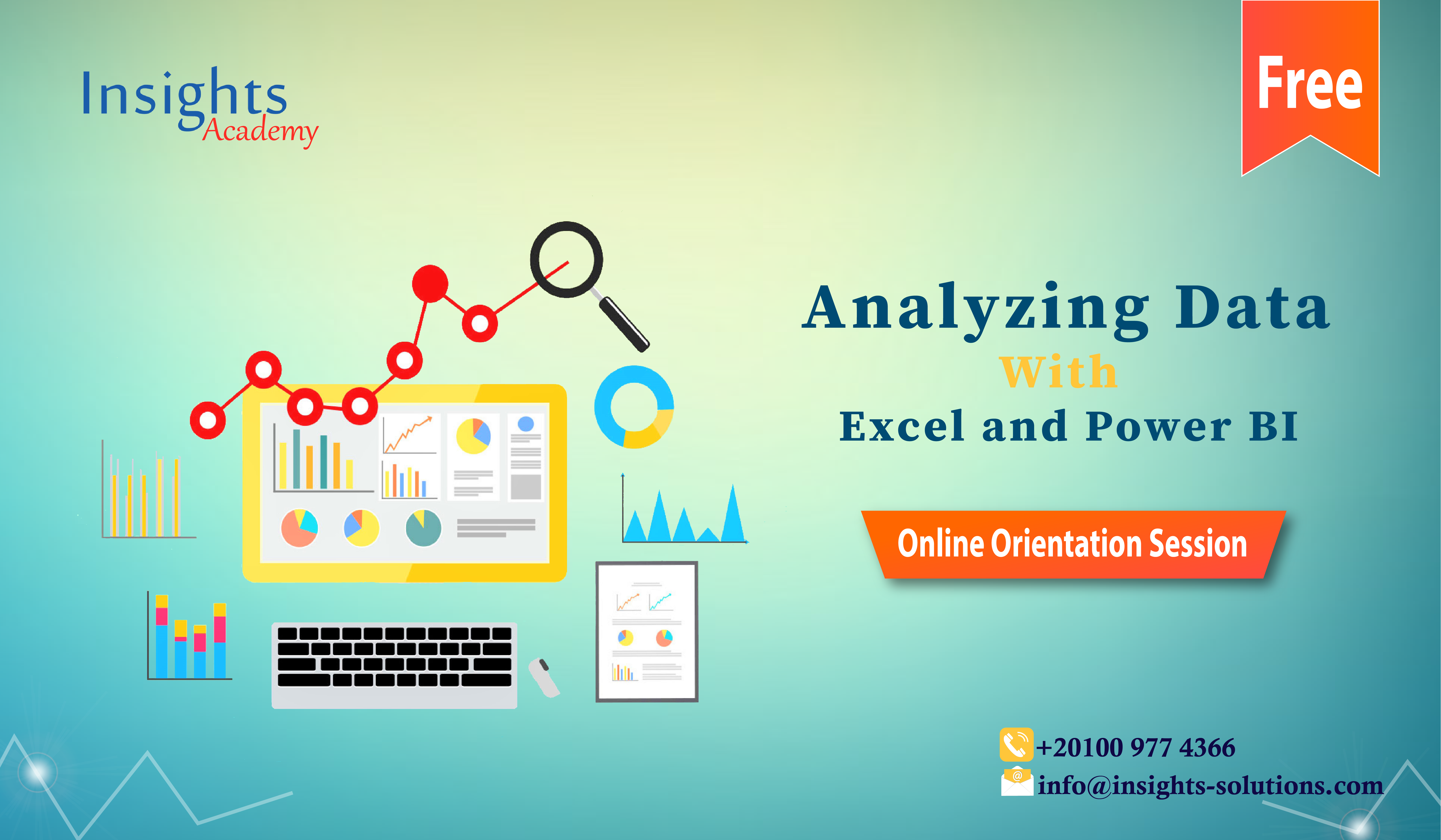 Analyzing Data with Excel and Power BI Track (Free Orientation Session) 2