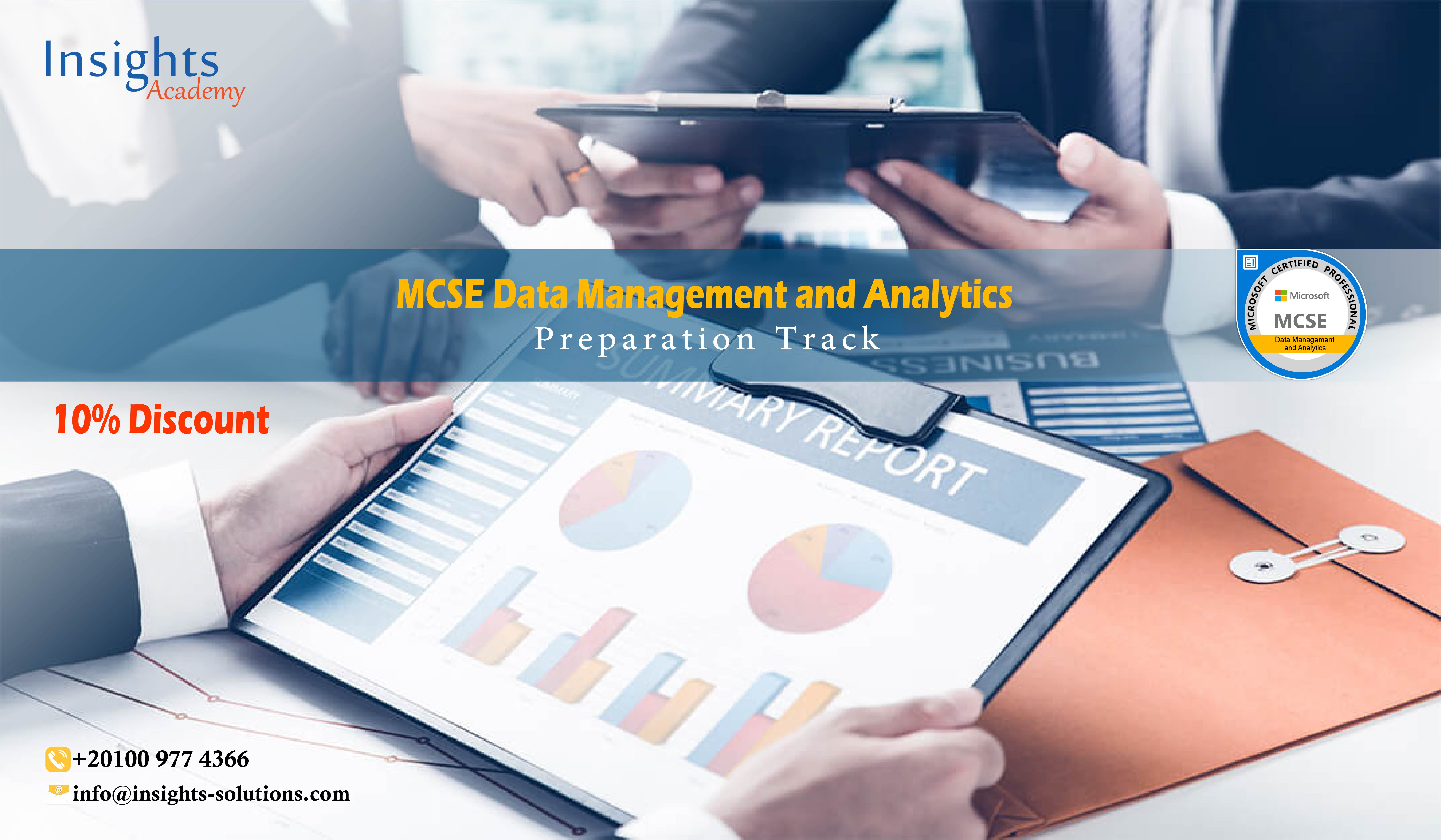 MCSE Data Management and Analytics | Preparation Track (72 Hrs. ) 2